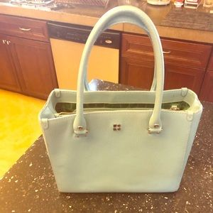 Kate Spade EUC Wellesley Light Tiffany Blue Bag